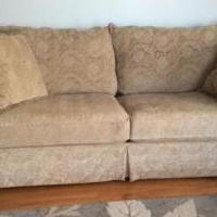 Sofa/beige for sale in Fort Fairfield ME by Garage Sale Showcase member Dirtworker, posted 12/31/2018