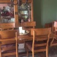 Dick Idol Mission Valley Dining Room Set for sale in Medina OH by Garage Sale Showcase member taraelkins, posted 03/26/2019