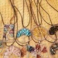 Tree of Life Necklaces made with Chakra Gemstones for sale in Pinebluff, N.c. NC by Garage Sale Showcase member Prissy, posted 12/31/2018