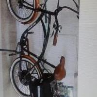 Electric bicycle for sale in Saint Joseph MI by Garage Sale Showcase member Horderchick, posted 03/22/2019