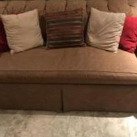 COUCH DEEP  SEATED COLOR BEIGE for sale in Stuart FL by Garage Sale Showcase member Jcmg86@aol.com, posted 04/14/2019