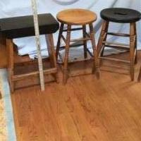 Antique Stools for sale in Pinehurst NC by Garage Sale Showcase member 4barb7, posted 01/19/2019