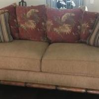 Sofa, chair and ottoman for sale in Naples FL by Garage Sale Showcase member Karennaples, posted 01/21/2019