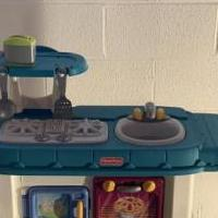 Fisher Price play kitchen for sale in Valley City OH by Garage Sale Showcase member charlieono, posted 03/15/2020