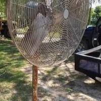 32 in. Fan on a stand for sale in Lakeview MI by Garage Sale Showcase member HooverJaniceLouise, posted 07/31/2019