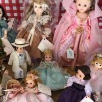 Madame Alexander collector dolls for sale in Noblesville IN by Garage Sale Showcase member JulieB, posted 11/30/2018