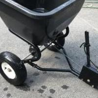 Brinly Tow-Behind Lawn Spreader for sale in Dahlonega GA by Garage Sale Showcase member carolcoco@bellsouth.net, posted 10/05/2018