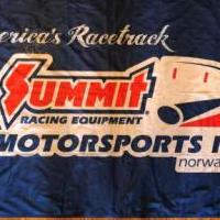 Summit Motorsports Park Flag for sale in Norwalk OH by Garage Sale Showcase member Brad Harp, posted 12/18/2019