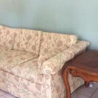 Sofa/end tables for sale in Troy MI by Garage Sale Showcase member Carole18, posted 09/26/2018