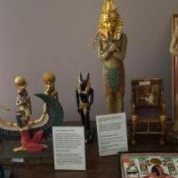 14 pc Egyptians statutes for sale in La Porte IN by Garage Sale Showcase member Laportesale, posted 02/17/2019