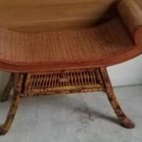 Ratan chair for sale in La Porte IN by Garage Sale Showcase member Laportesale, posted 02/17/2019
