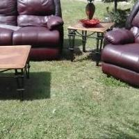 Couche and chair both recline for sale in Fort Myers FL by Garage Sale Showcase member Lips1976, posted 04/08/2019