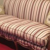 Upholstered couch for sale in West Chester PA by Garage Sale Showcase member Lisamac, posted 12/14/2018
