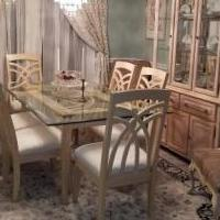 11 PIECE COMPLETE DINING ROOM SET for sale in Sunrise FL by Garage Sale Showcase member allengend, posted 02/06/2019