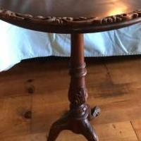 Antique serving table for sale in Franklin IN by Garage Sale Showcase member cmpritchard mae147147, posted 06/26/2019