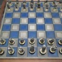 Franklin Mint civil war chess set for sale in Lee County VA by Garage Sale Showcase member secessionist, posted 06/07/2019