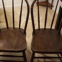 Small antique chairs 2 for sale in Nottingham MD by Garage Sale Showcase member zalt2000, posted 06/24/2019