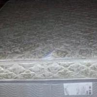 Queen Mattress (RV) Box Spring, and Metal Frame for sale in Columbia MO by Garage Sale Showcase member rickandarlene, posted 06/29/2019
