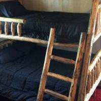 Log bunk bed for sale in Grand Lake CO by Garage Sale Showcase member Robreddy, posted 07/06/2019