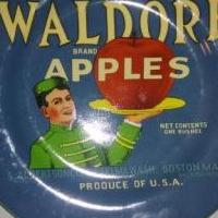 Waldorf Apples Plate for sale in Mount Vernon IL by Garage Sale Showcase member J and J, posted 07/30/2019