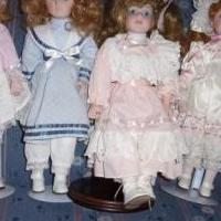 Porceline dolls for sale in Corning NY by Garage Sale Showcase member Marcella, posted 07/02/2019