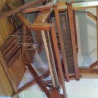 Antique floor loom for sale in Allegan MI by Garage Sale Showcase member Spackle, posted 08/09/2019