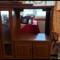 TV cabinet for sale in West Branch IA by Garage Sale Showcase member shyone, posted 04/19/2019