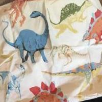 Dinosaur twin sheets for sale in Thibodaux LA by Garage Sale Showcase member EKirkland, posted 06/15/2019