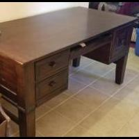 Solid wood Desk for sale in Tabernash CO by Garage Sale Showcase member winterparkhighlands, posted 08/12/2019