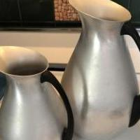 Vintage water pitcher set of 2 for sale in Wildwood NJ by Garage Sale Showcase member Bella, posted 07/10/2019