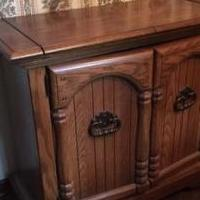 Serving Hutch for sale in Clayton IN by Garage Sale Showcase member Heinzb, posted 07/22/2019