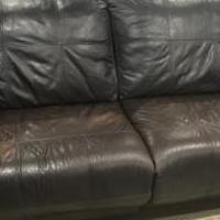 Leather couches for sale in Hazlet NJ by Garage Sale Showcase member JDuffy, posted 08/17/2019
