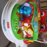 Fisher price rain forest jumper for sale in Pittsboro IN by Garage Sale Showcase member Blmiller, posted 07/24/2019