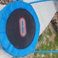 Little tikes trampoline for sale in Pittsboro IN by Garage Sale Showcase member Blmiller, posted 07/24/2019