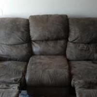 Reclining couch for sale in Eagan MN by Garage Sale Showcase member Alex Eaton, posted 05/05/2019