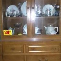 Dining room hutch and matching cabinet for sale in Cobleskill NY by Garage Sale Showcase member dustysue, posted 05/27/2019