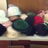 1920-1950 Antique Woman's hats for sale in Delano MN by Garage Sale Showcase member Countylineroad, posted 08/13/2019