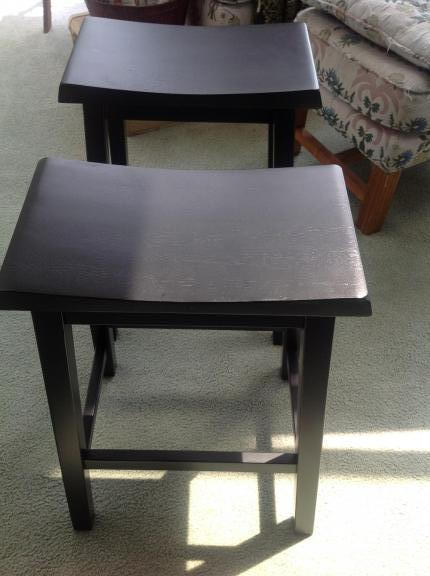 "NEW from Target*Black barstools*24"" for sale in Fort Wayne IN"