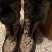 Coach boots for sale in Bowling Green OH by Garage Sale Showcase member Horsehaven6, posted 08/05/2019