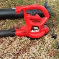 Black n Decker Leaf Hog Blower & Vacuum Electric for sale in Somerset NJ by Garage Sale Showcase member Vandy7, posted 04/18/2019