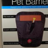 Pet Barrier w/Pockets for sale in Newark NY by Garage Sale Showcase member douglasanson, posted 05/03/2019