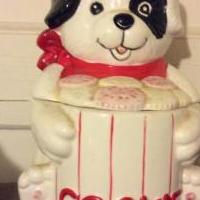 Dog cookie jar for sale in Fayette County AL by Garage Sale Showcase member Cathybebow, posted 08/06/2019
