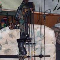 Compound Hunting Bow outfit for sale in Mecklenburg County VA by Garage Sale Showcase member BRADLEY KEENEY, posted 03/13/2020