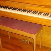 Lester piano and bench for sale in Saint Marys PA by Garage Sale Showcase member 3goodbusiness, posted 05/29/2019