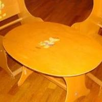 Wooden Children's Table and Chairs for sale in Saint Marys PA by Garage Sale Showcase member 3goodbusiness, posted 05/29/2019