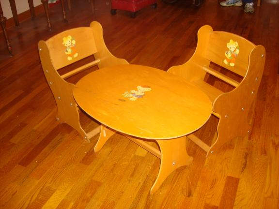 Wooden Children's Table and Chairs for sale in Saint Marys PA