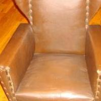 Child's brown upholstered rocker for sale in Saint Marys PA by Garage Sale Showcase member 3goodbusiness, posted 05/29/2019