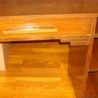 Solid wood desk for sale in Saint Marys PA by Garage Sale Showcase member 3goodbusiness, posted 06/02/2019