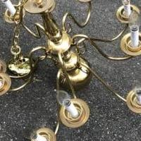 Chandelier for sale in Charlottesville VA by Garage Sale Showcase member JimJim, posted 07/07/2019