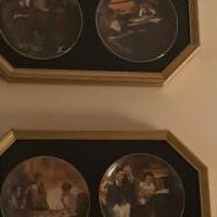 Norman Rockwell Plates Framed for sale in Eagan MN by Garage Sale Showcase member Eaganjan, posted 04/27/2019